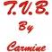 """Frase con ricamo """"T.V.B. by nome personalizzato"""""""
